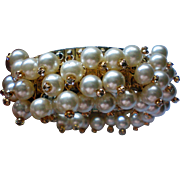 Jingle Jangle Cha Cha Faux Pearl Expansion Bracelet