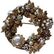 Original by Robert Wreath Brooch or Pendant