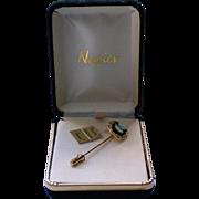 Napier Cameo Stick Pin in Original Box