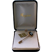 Napier Cameo Stick Pin in Original Box