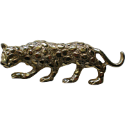 Gerry's Signed Leopard or Panther Cat Pin