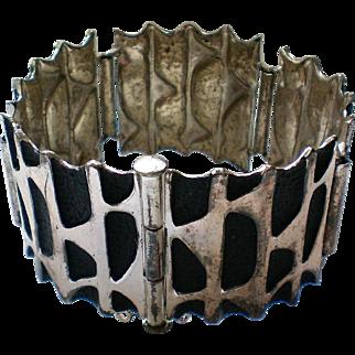 Chunky Silver Plate Link Bracelet