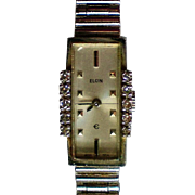 Elgin Ladies Diamond Swiss Movement Watch