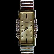 Elgin Ladies Diamond Swiss Movement Watch