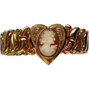Cameo Sweetheart Stretch Bracelet