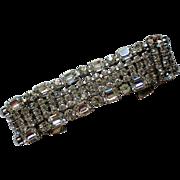 Exquisite Dazzling HUGE Rhinestone Bracelet