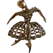 Boucher Design Ballerina Pin