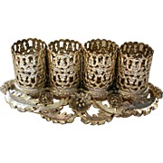 Vanity Gilt Ormolu Lipstick Holder