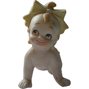 Bisque Kewpie Baby Girl Doll