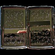 Cigarette Case with Seahorse Motif