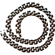 Petite Gold tone Chain Link Necklace