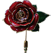 Rose Flower Stick Pin