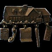 Realtor Sold House Pin by JJ Jonette Jewelry