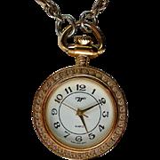 Pendant Watch Necklace