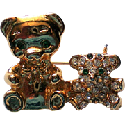 Tiny Teddy Bears Fashion Pin