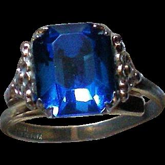 Kiddiegem Blue Stone Ring
