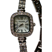 Joan Rivers Rhinestone Ladies Watch