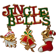 Jingle Bells Jingle Jangle Pin for the Christmas Holidays