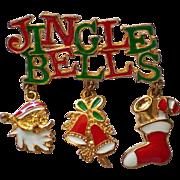 Jingle Bells Jingle Jangle Pin for the Christmas Holidays