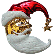 Santa or St. Nicholas Pin for Christmas Holidays