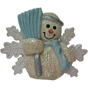 Frosty the Snowman Winter Pin