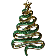 AJC Free Form Christmas Tree Pin