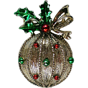 Gerry's Holiday Christmas Tree Ornament Pin