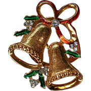 Jingle Bells Christmas / Hanukkah / Kwanzaa Holiday Fur Clip