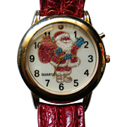 Santa St. Nick Watch for Christmas Holidays