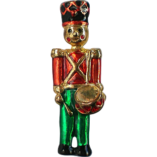 Little Drummer Boy Pin for Christmas Holidays