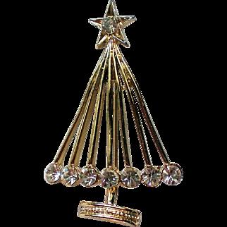 Geometric Christmas Tree for Holidays