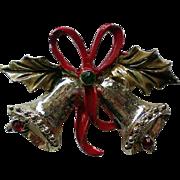 Joyous Bells Christmas / Hanukkah Pin