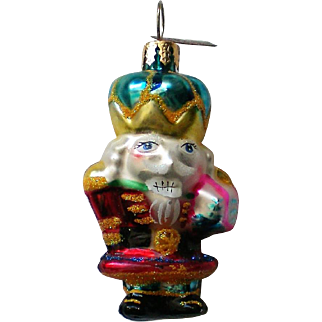 Christopher Radko Nutcracker Christmas Holiday Ornament