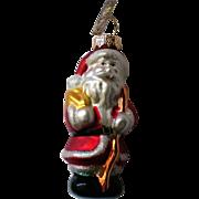 Christopher Radko Santa or St. Nick Christmas Holiday Ornament