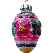 Radko Shiny Brite Miniature Christmas Holiday Glass Ornament