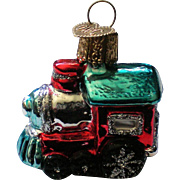 Old World Christmas OWC Train Engine Ornament