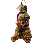 Old World Christmas OWC Teddy Bear Ornament
