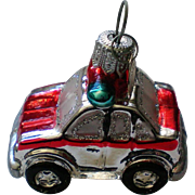 Department 56 Police Car Christmas Tree Ornament