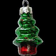 Vintage Mercury Class Miniature Christmas Tree Ornament