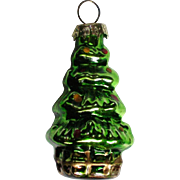 Vintage Mercury Class Miniature Christmas Tree Ornament