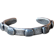 Fine Silver .999 Swirl Design Bangle
