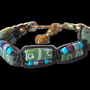 African Krobo Beaded Bracelet