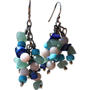 Swingy beaded earrings