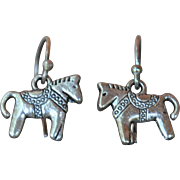 Two Little Horses Earrings