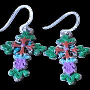 Chimayo Fancy Cross Earrings