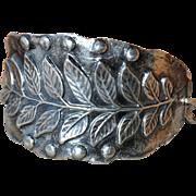 .960 Silver Leaf Bracelet