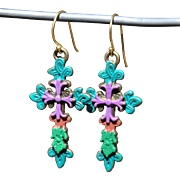Chimayo Cross Earrings