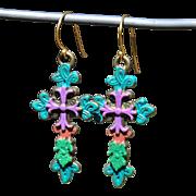 Chimayo Cross Earrings