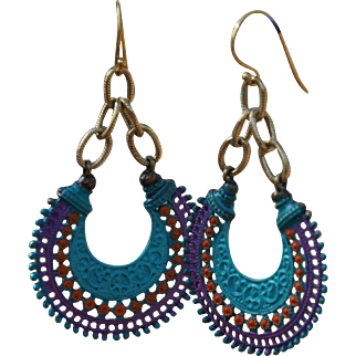 Chimayo Hoop Earrings