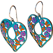 Chimayo Heart and Butterfly Earrings